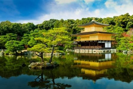 Chùa vàng - Golden Pavilion Temple
