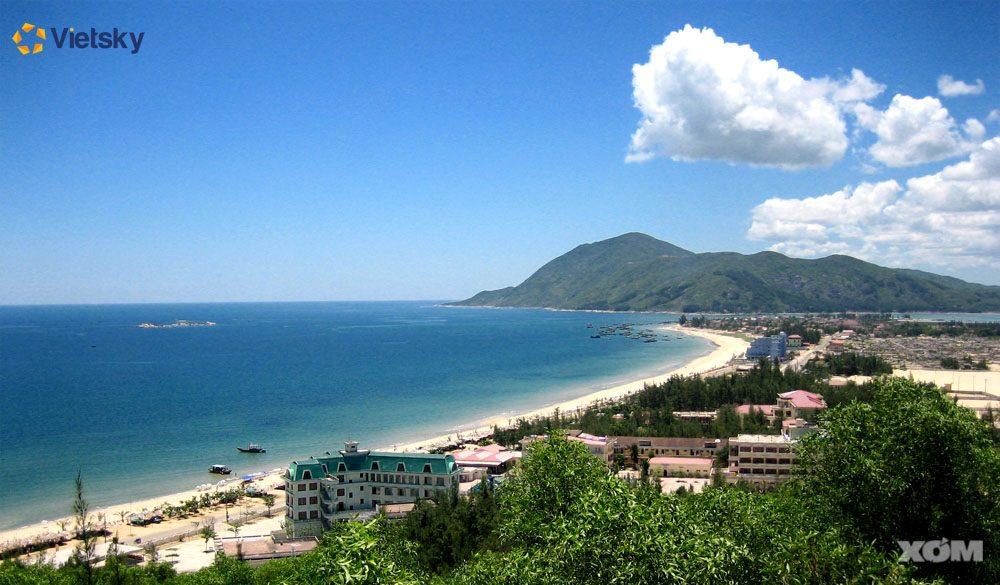 Du lịch biển Thiên Cầm