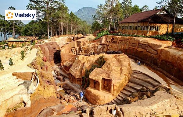 Du lịch Đà Lạt - Đường hầm điêu khắc