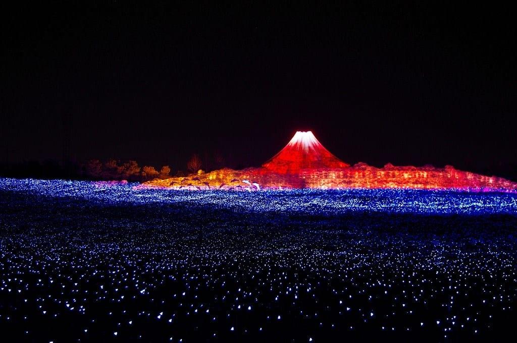 lễ hội Nabana no Sato