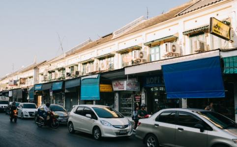 Khách sạn giá rẻ ở Khao San