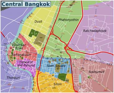 Đi lại ở Bangkok