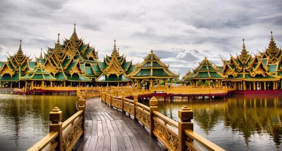 Đại hoàng cung Grand Palace ở Thái Lan