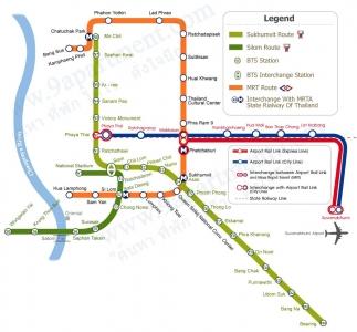 Hướng dẫn cách đi tàu điện ngầm Bangkok