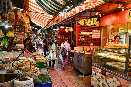 Cách đi đến ChinaTown ở BangKok