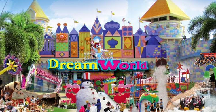 công viên dream world bangkok