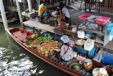 Kinh nghiệm đi chợ nổi Bang Nam Pheung