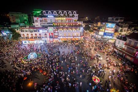 phố đi bộ ở Hà Nội