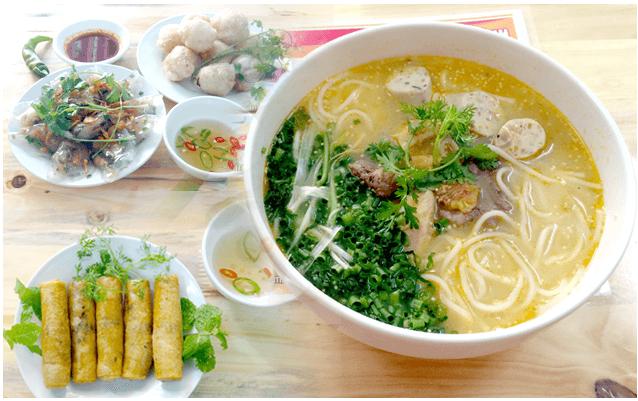 Cháo canh cá lóc Quảng Bình