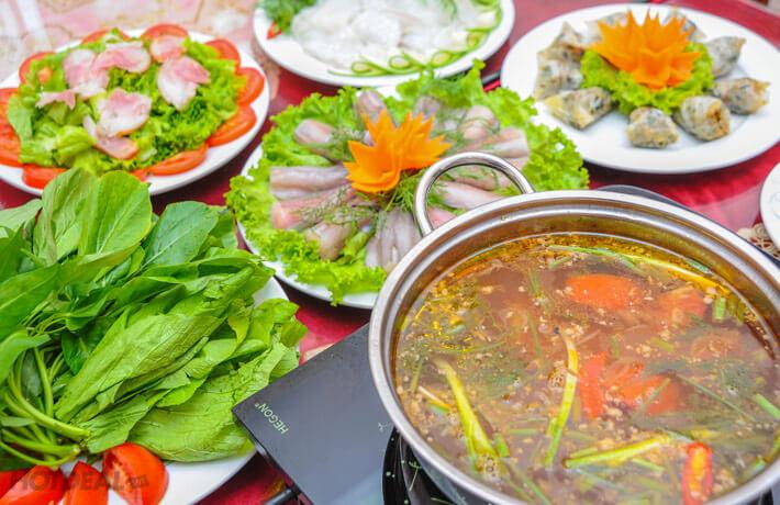 Lẩu cá khoai Quảng Bình