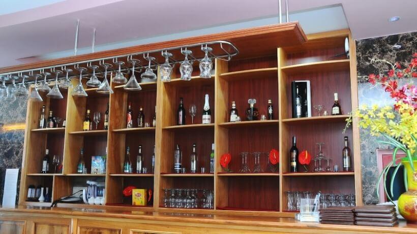 Quầy bar tại Khách Sạn 68 Quảng Bình