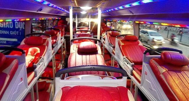 Xe giường nằm đi Quảng Bình Sài Gòn