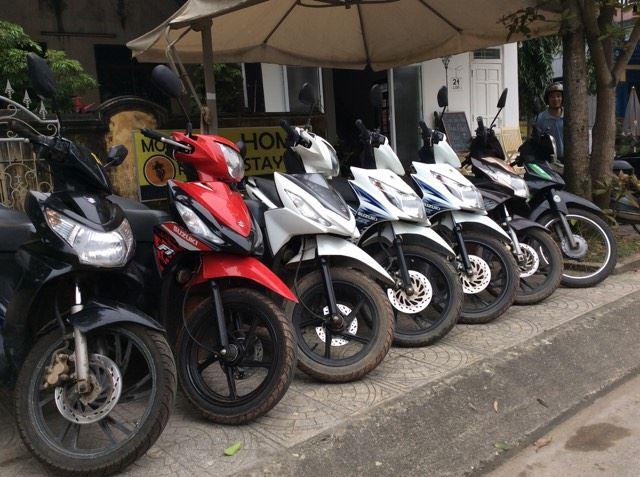 Thuê xe máy ở Đồng Hới